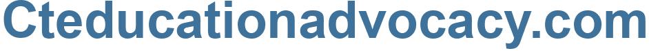 Cteducationadvocacy.com - Cteducationadvocacy Website